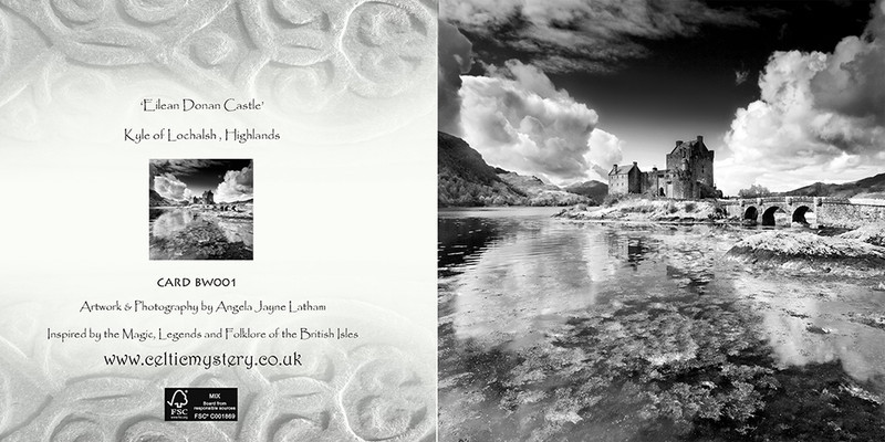 BW001 Eilean Donan Castle - Scotland in Black & White