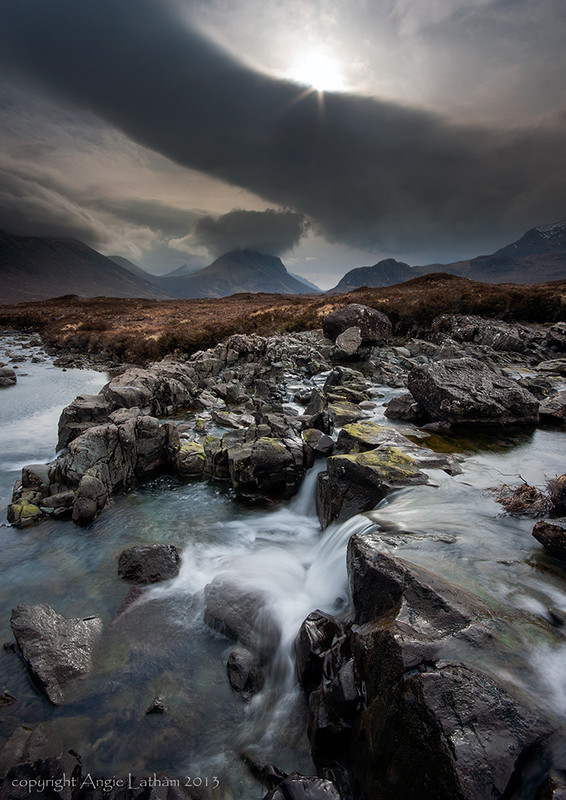 Moody Sligachan - Isle of Skye