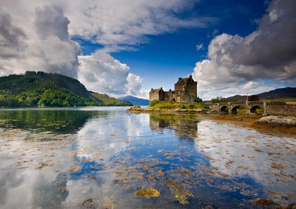 Castles & Clouds - Highlands of Scotland