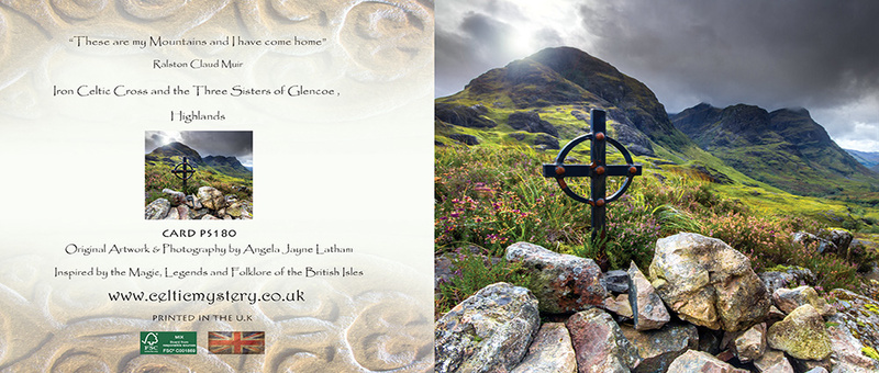 PS180 Celtic Cross Glencoe - Scottish Landscapes