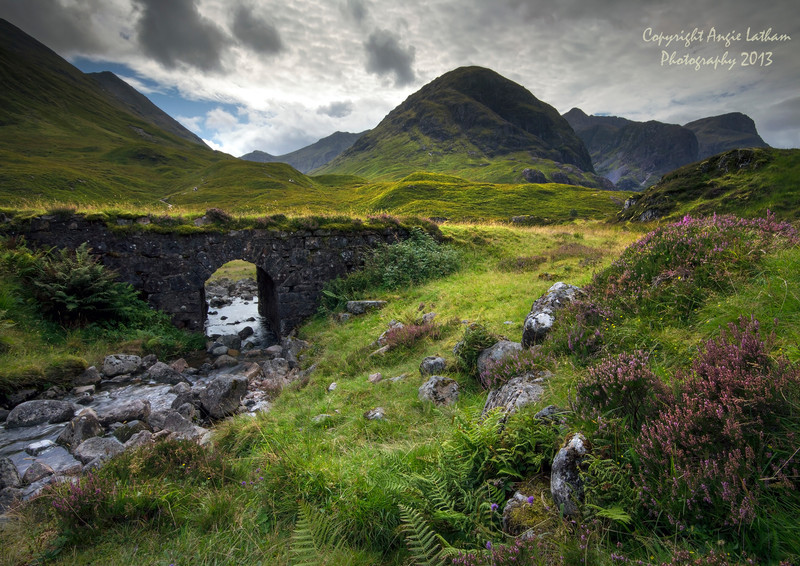 The Old Drover's Road, Glencoe - Highlands of Scotland