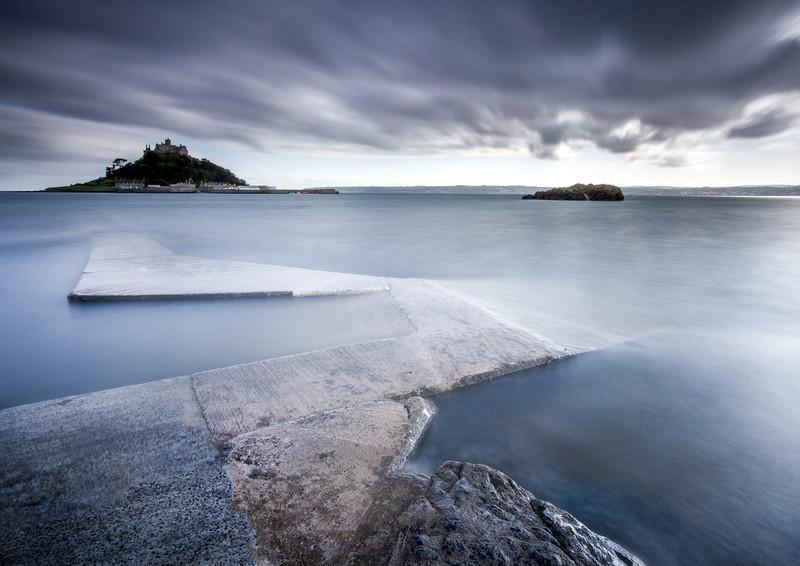 St.Michael's Mount Storm 1 - Celtic Cornwall