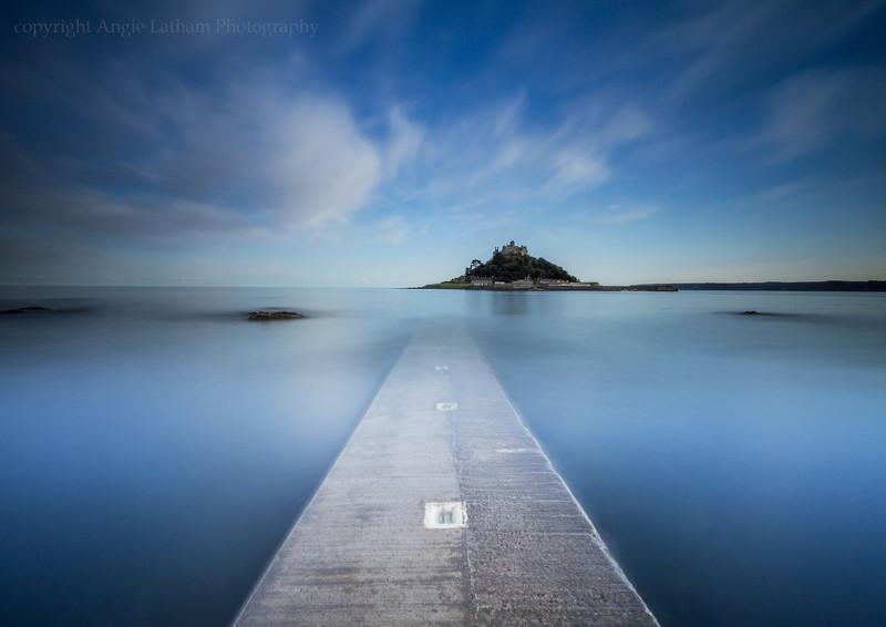 St.Michael's Mount Twilight - Celtic Cornwall