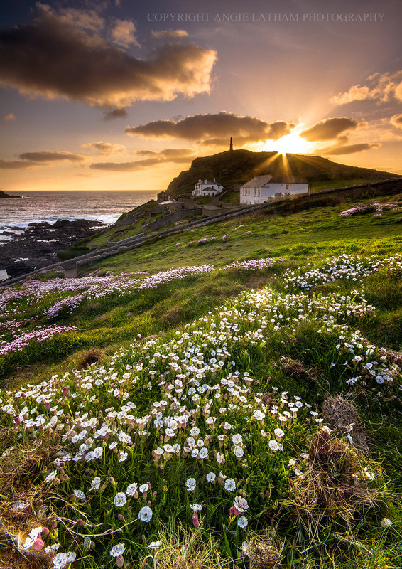 Cape Cornwall Sunset - Celtic Cornwall