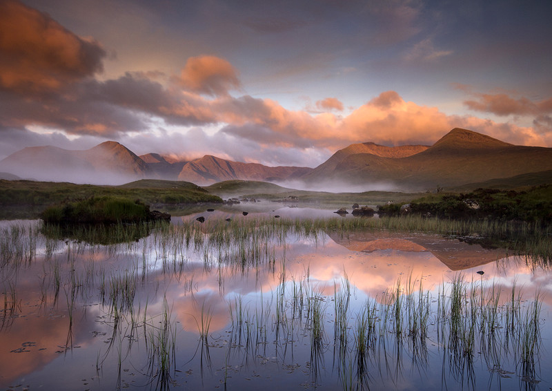 Sunrise on Rannoch Moor 1 - Highlands of Scotland
