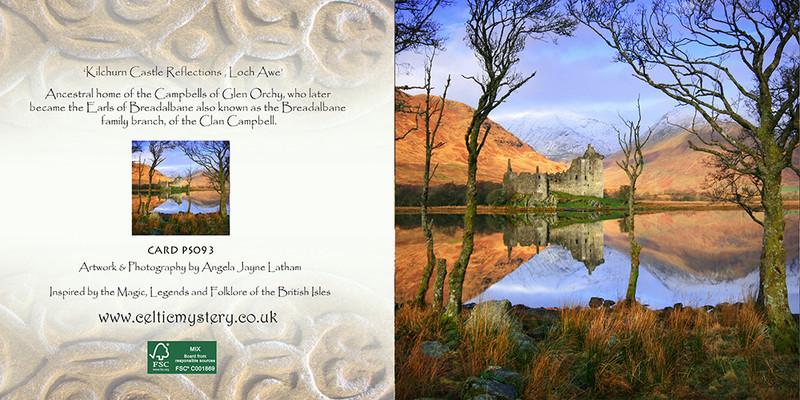 PS093 Kilchurn Castle Reflections - Scottish Landscapes