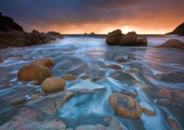 Porth Nanven Fire - Celtic Cornwall