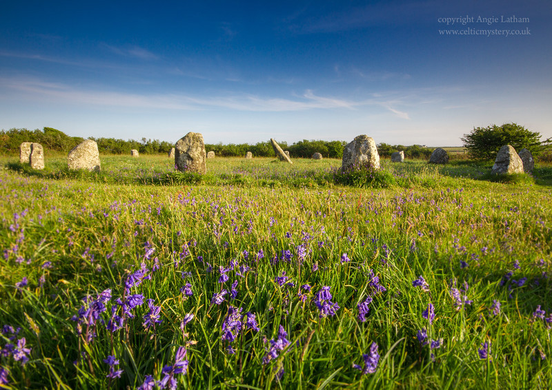 Boscawen-Un Stone Circle , Penwith, Cornwall - Ancient Sites