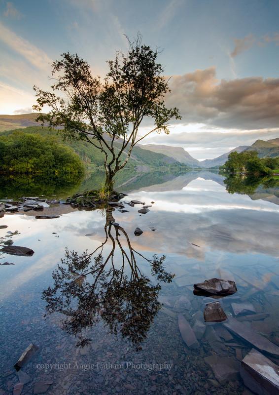 Llyn Padarn Reflections - Celtic Wales