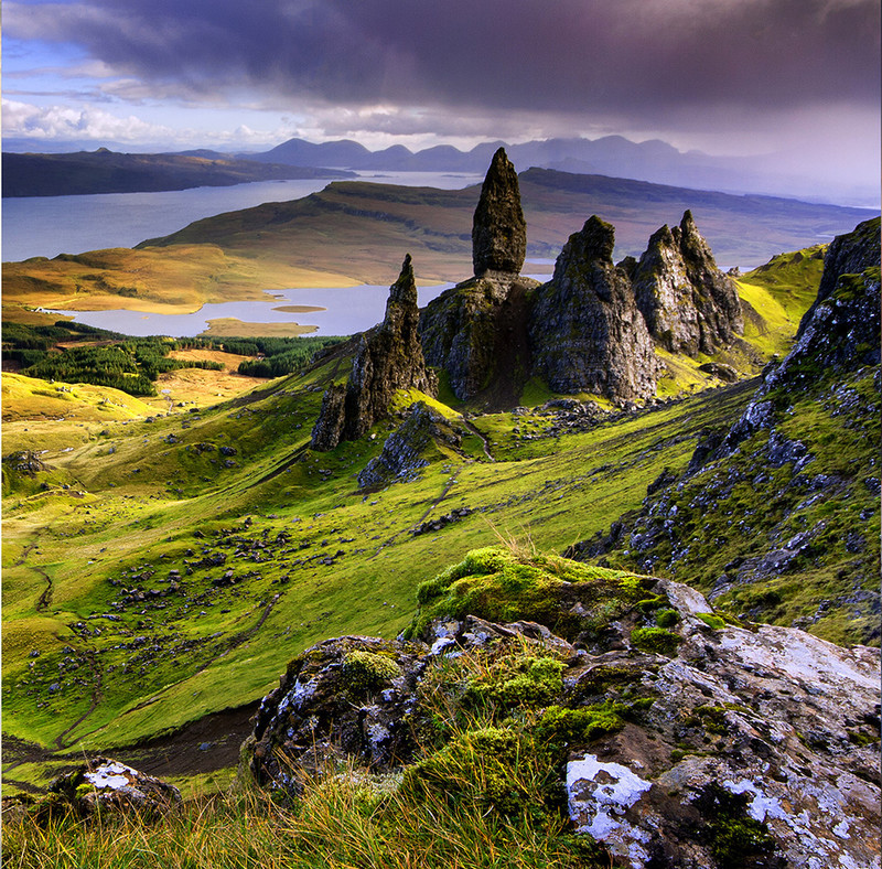 PS097 The Old Man of Storr, Skye - Scottish Landscapes