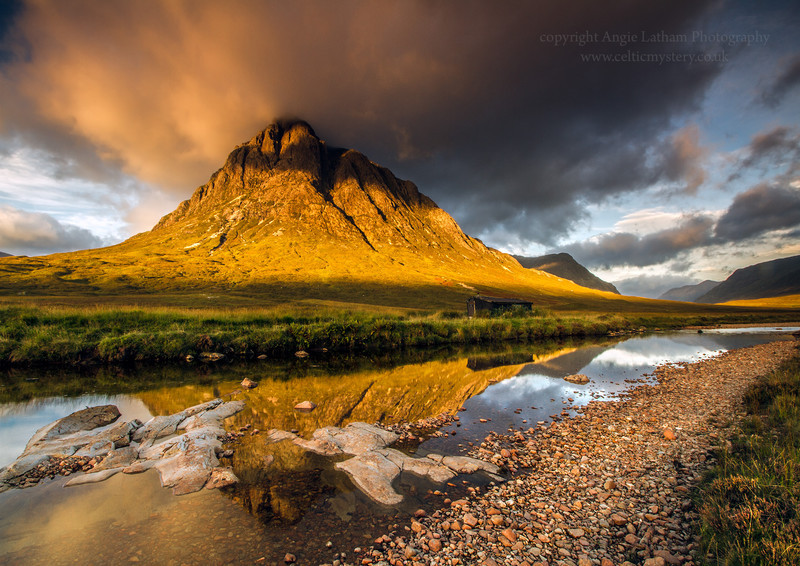Glencoe Gold - Buachaille Etive Mor - Highlands of Scotland