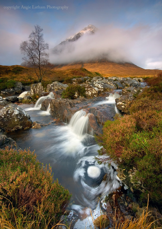 Autumn Mist on Buachaille Etive Mor - Highlands of Scotland