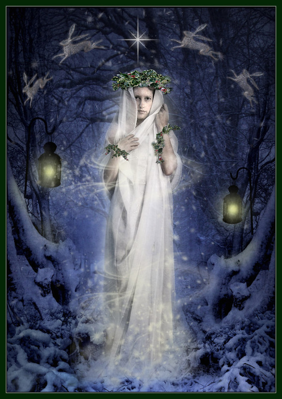 Yule Goddess - The Wheel of the Year