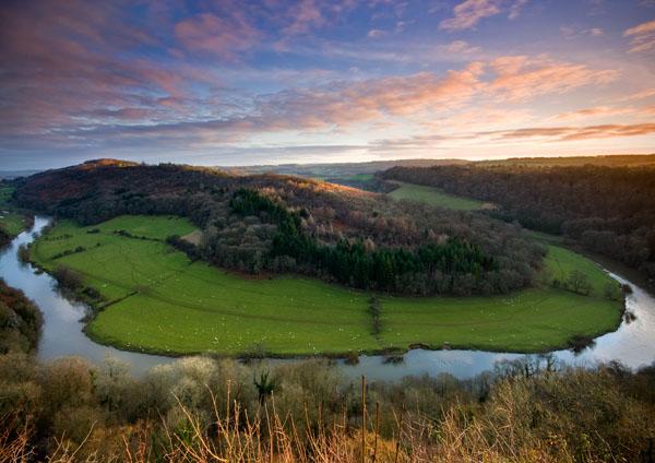Wye Valley Sunrise - England & The Shires