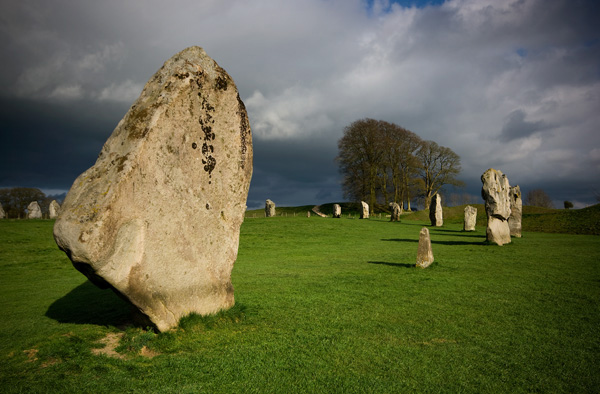 Avebury Winter Light - Ancient Sites