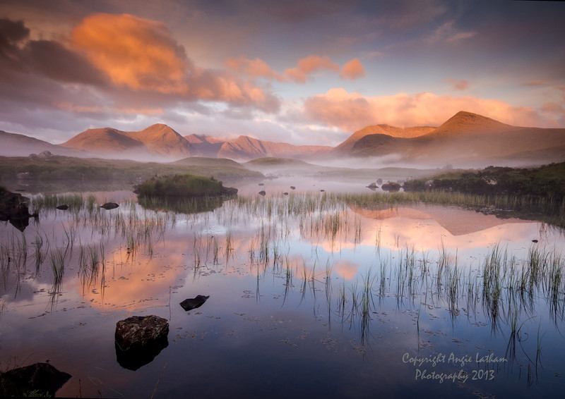 Sunrise on Rannoch Moor 2 - Highlands of Scotland