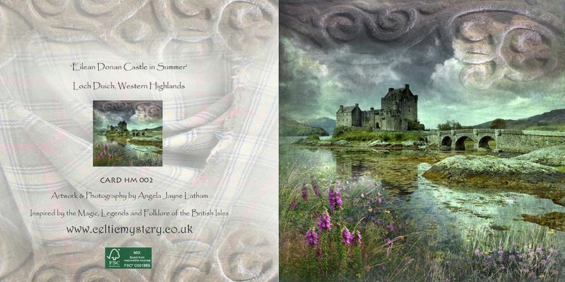 HM 002 Eilean Donan Castle , Loch Duich - Spirit of the Highlands