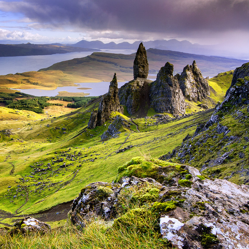 PS097 The Old Man of Storr , Skye - Magical Britain