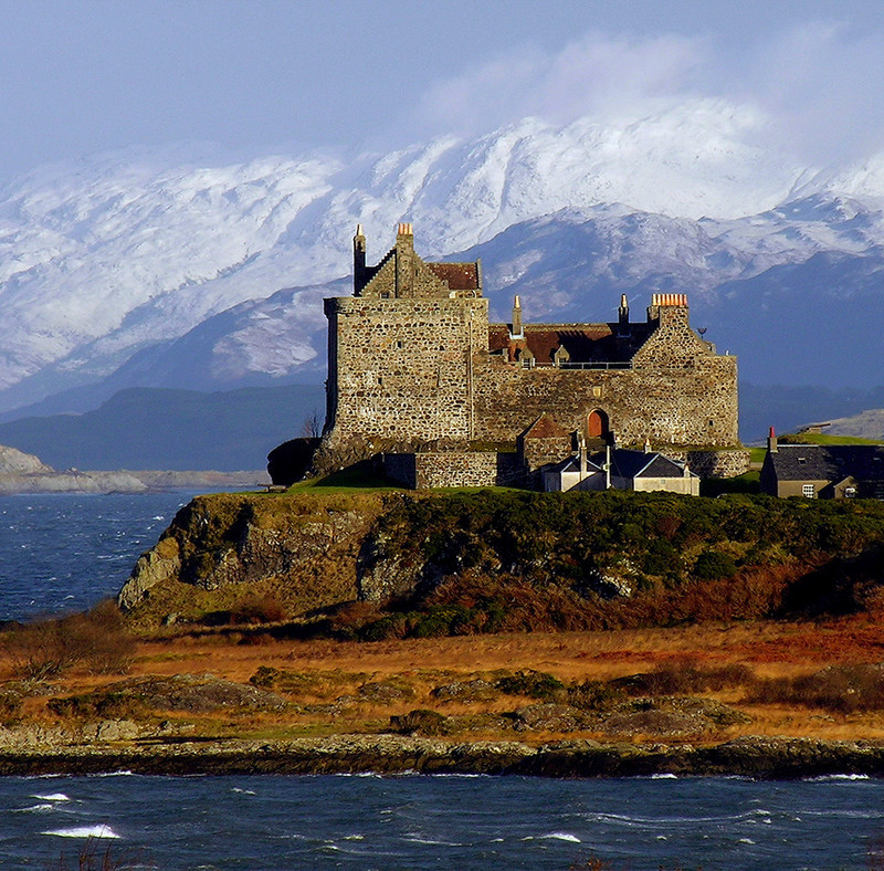 PS094 Duart Castle Winter - Scottish Landscapes
