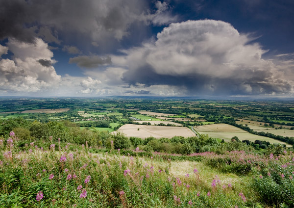 Storms over Bredon Hill - The Malvern Hills