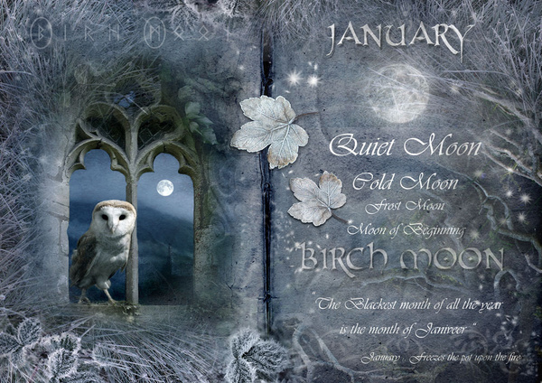 January - Birch Moon - The Wheel of the Year
