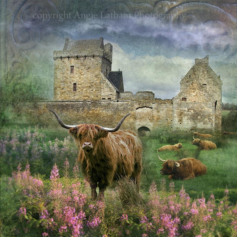 HM 011 Balgonie Castle, Fife (Outlander filming location) - Spirit of the Highlands