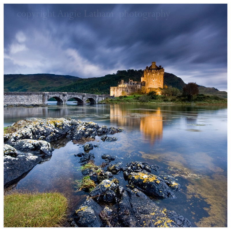 PS023 Eilean Donan Castle Twilight - Magical Britain