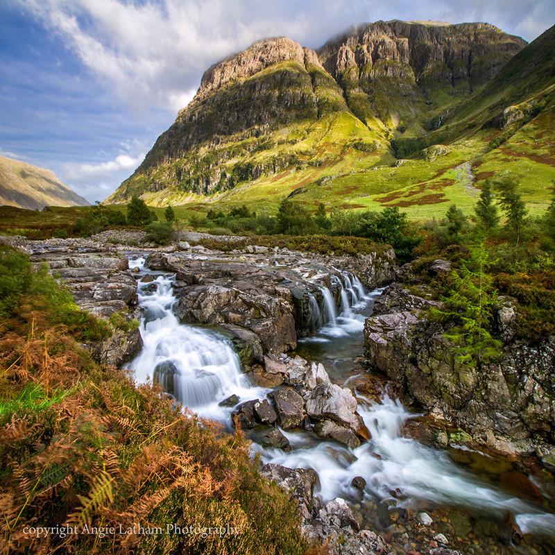 NEW! PS168 Glencoe Falls - Scottish Landscapes