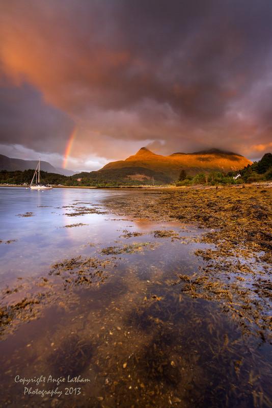 Pap of Glencoe at Sunset - Highlands of Scotland
