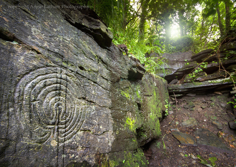 Rocky Valley Labyrinths - Ancient Sites
