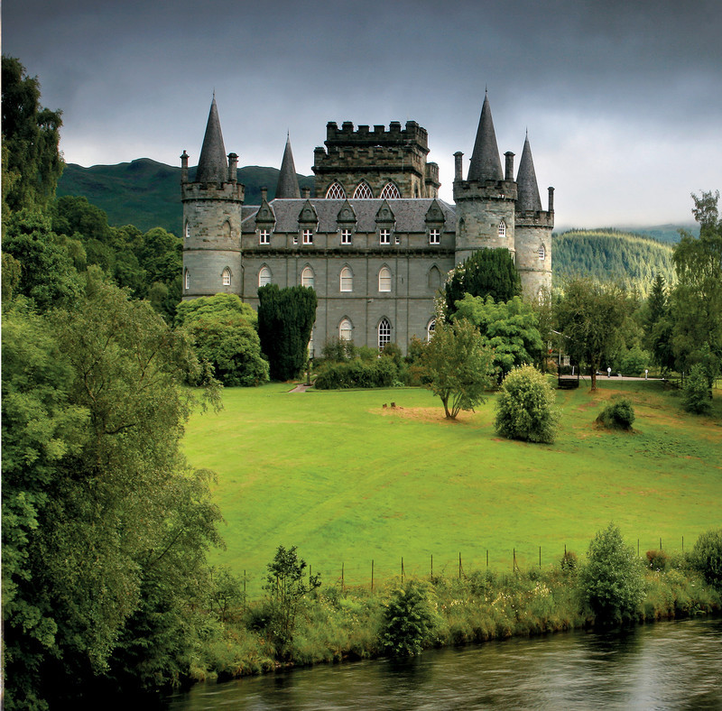 NEW! PS176 Inveraray Castle, Argyllshire - Scottish Landscapes