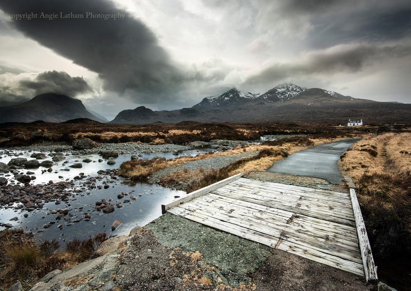 Road Bridge to Sligachan - Isle of Skye