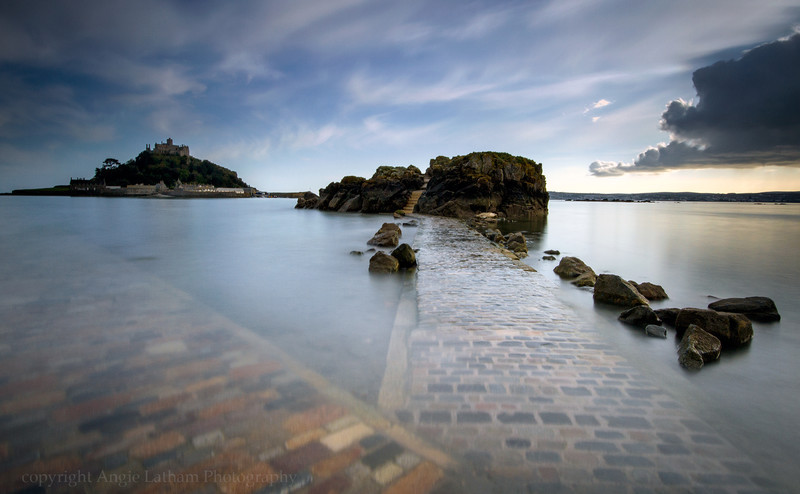 Incoming Tide - St.Michaels' Mount - Celtic Cornwall