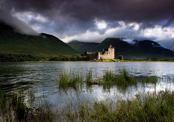 Kilchurn Mood - Highlands of Scotland