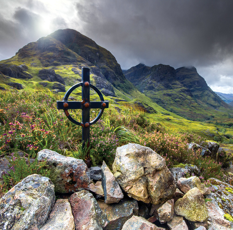 NEW! PS180 Celtic Cross Glencoe - Scottish Landscapes