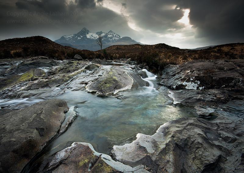 Sligachan Winter - Isle of Skye