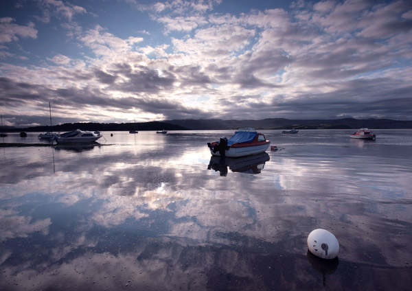 Reflections of Borth-y-Gest - Celtic Wales