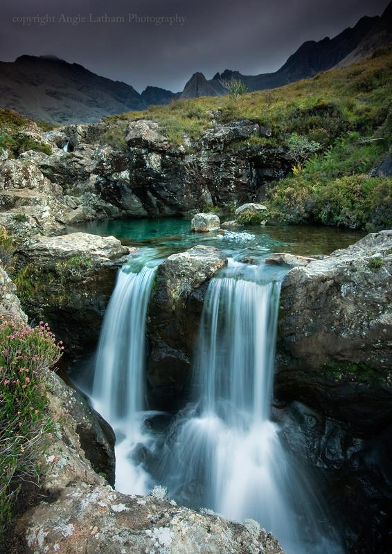 Twin Fairy Falls - Isle of Skye