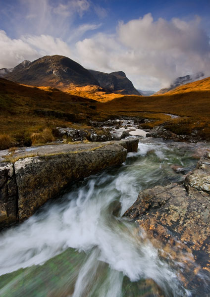 Autumn in Glencoe - Highlands of Scotland