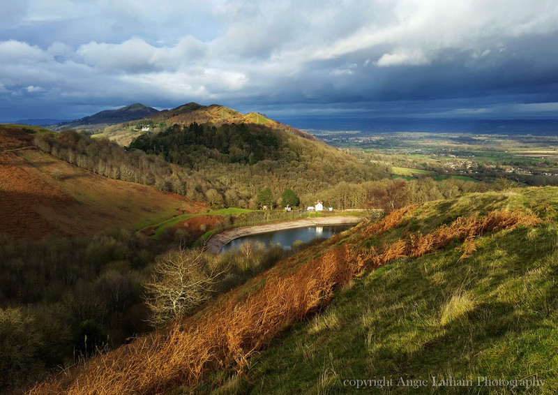 Autumn Light - The Malvern Hills