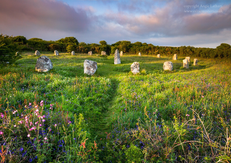 Boscawen-Un Stone Circle 3 , Penwith, Cornwall - Ancient Sites