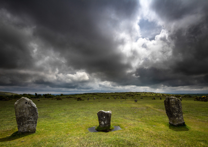 The Hurlers, Bodmin Moor 4 - Ancient Sites