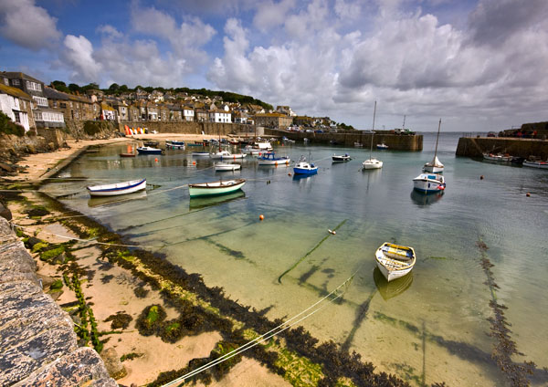 Sunny Mousehole - Celtic Cornwall