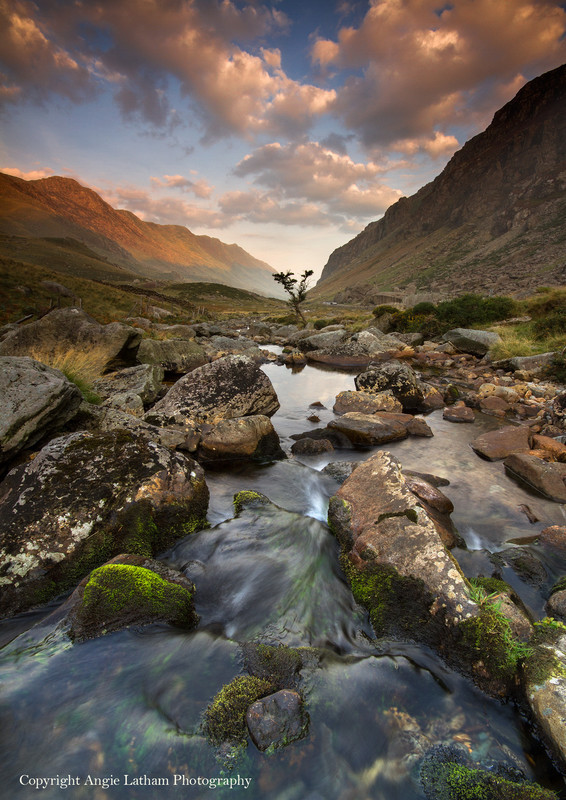 Llanberis Pass Dawn - Celtic Wales