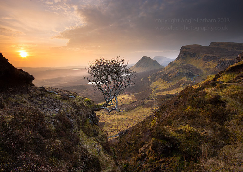 Dawn on the Quiraing - Isle of Skye