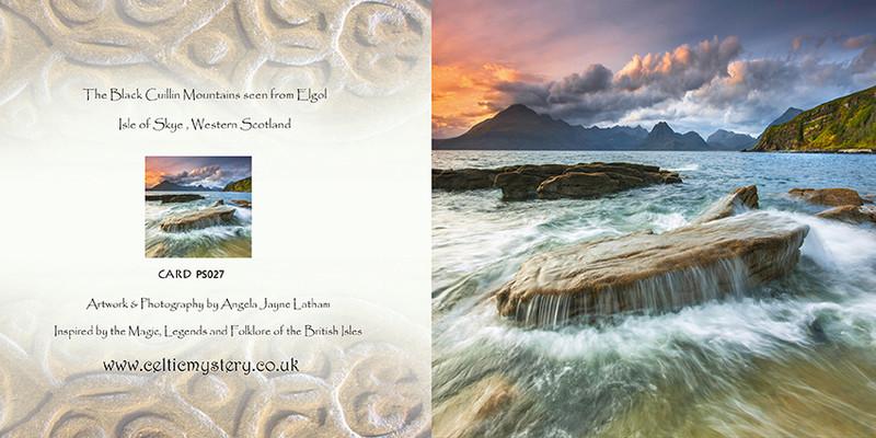 PS027 Black Cuillin from Elgol - Scottish Landscapes