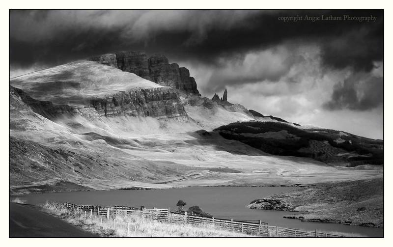 The Old Man of Storr - Skye BW - Black & White
