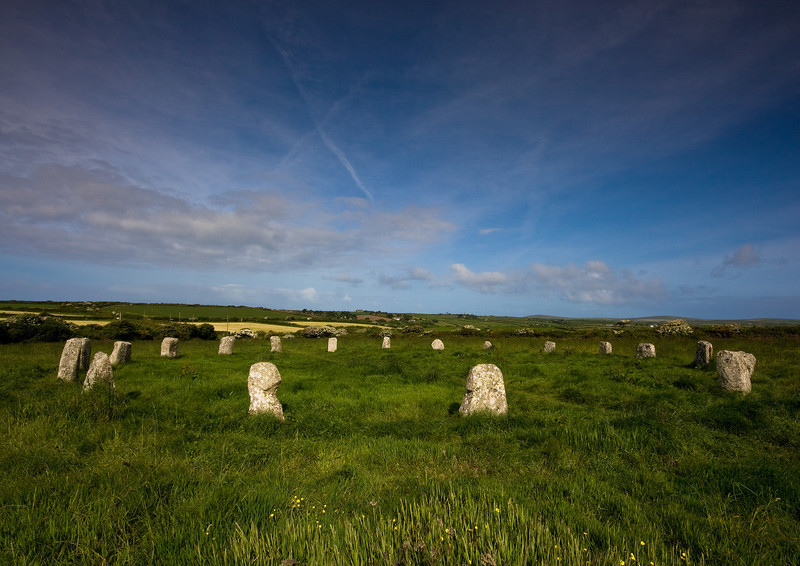 The Merry Maiden's, Cornwall - Ancient Sites