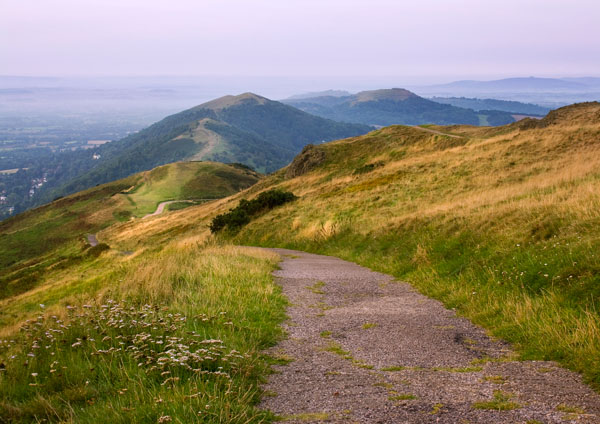 Going Down - The Malvern Hills