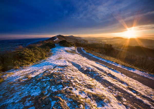 Winter in the Shire - The Malvern Hills